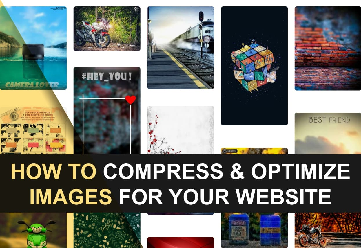 How to optimize size of images for your website online