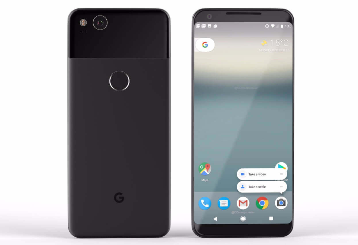 Google Pixel 2 i Pixel 2 XL Image by: Forbes